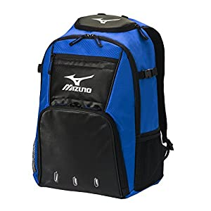 Mizuno 360226.5290.01.0000 Organizer G4 Backpack One-Size ROYAL-BLACK
