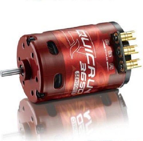 (Hobbywing 30404306 Quicrun 3650 G2 17.5T Sensored Brushless Motor)