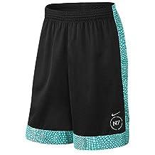 "Nike Men's N7 ""Legend of the Dragonfly"" Printed Shorts Black/Hyper Turquoise Medium"