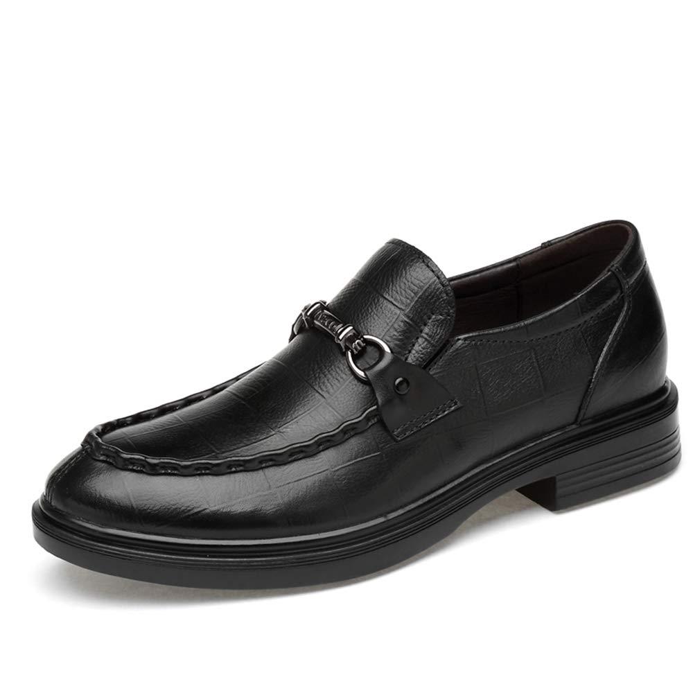 Printed noir Mode pour hommes Oxford Loisirs Chaussures formelles gaufrage en métal antirouille confortable et pratique (Accessoires conventionnels) ,Chaussures de cricket ( Couleur   Noir , Taille   35 EU ) 46 EU