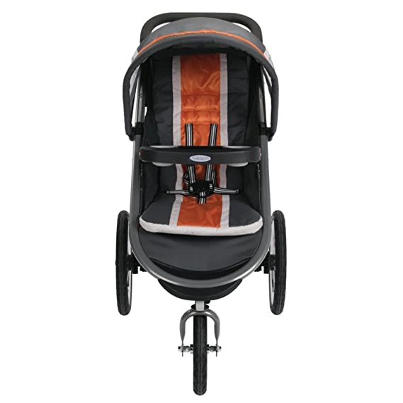 Graco FastAction Fold Jogger Click Connect Stroller, Tangerine by Graco: Amazon.es: Bebé