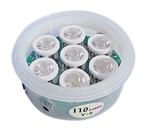 Pack of 2 Bioexcel Biodisc Counterclock LED Light - 120 Lumen (Premium) by Bioexcel