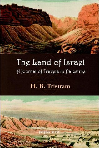 Download The Land of Israel: A Journal of Travel in Palestine ebook