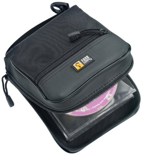 ACDY-32 CD Wallet (32 Capacity, Koskin, Black)