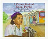 Front cover for the book A Picture Book of Rosa Parks by David A. Adler