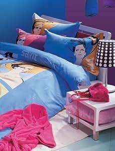 Twin Lady's dream twin duvet cover and a bonus pillow sham