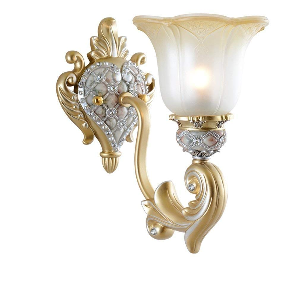 WHKHY Night Table Lamps, Wall Lights, Lighting Lamps Lights-Vogue Lounge Staircase Committed (Style: Single Head),Single Head