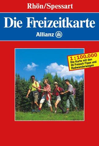 Die Freizeitkarte Allianz, Bl.20, Rhön, Spessart