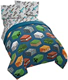 Best Gifts & Decor Beddings - Jay Franco Minecraft Isometric Characters Twin Comforter Review