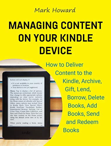 remove books from kindle library - 7