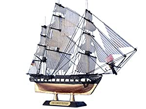 "USS Constitution Limited 7"" Model Ship - Tall Ship Model - Old Ironsides - Nautical"