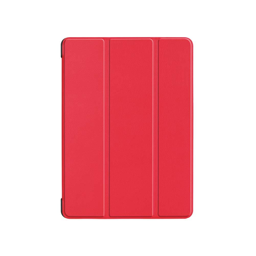 【別倉庫からの配送】 三つ折りレザーケース Book スマートカバー タブレット B07KSVP5Q7 PCシェル Acer Chrome Book タブレット Tab 10用 (レッド) B07KSVP5Q7, 東海村:4a7f904e --- a0267596.xsph.ru