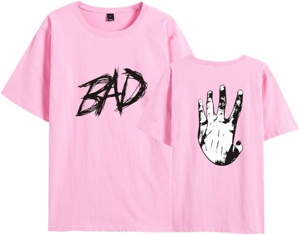 Color : Blue, Size : XS Rugby clothing boutique Q Camiseta Xxxtentacion Superior con Estilo Hot Rap Camiseta