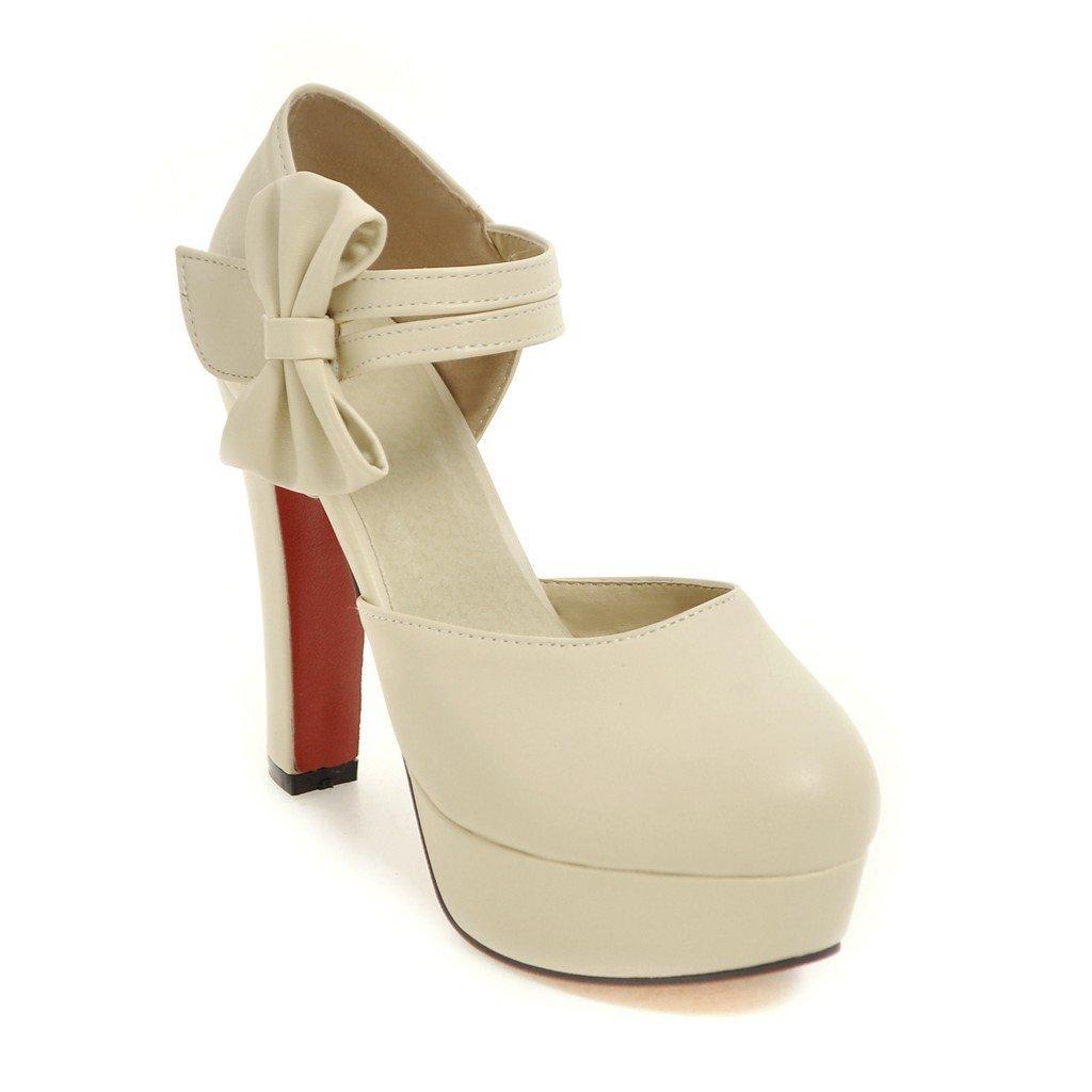 CXQ-Sandalen QIN&X Damen Stiletto Heels Riemchen Schuhe