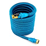 Best Expanding Hoses - WEUE Garden Expandable Hose with Brass Fittings 9Spray Review