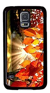 Autumn landscape Easter Thanksgiving Personlized Masterpiece Limited Design PC Black Case for Samsung Galaxy S5 I9600 by Cases & Mousepads by ruishername