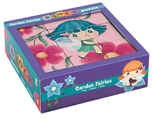 Mudpuppy Garden Fairies Block Puzzle
