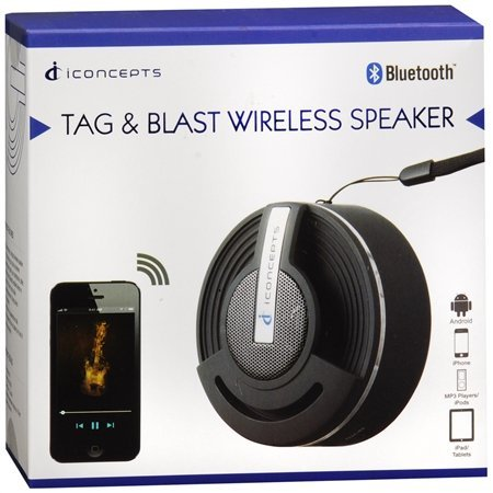 Vivitar Tag & Blast Wireless Bluetooth Speaker ()