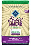 BLUE Basics Limited Ingredient Diet Grain Free, Natural Indoor Adult Dry Cat Food, Turkey & Potato 11-lb