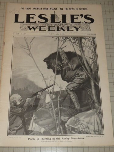 Leslie's Illustrated Weekly: Harriet Quimby - Pima Indians of Arizona - New Guinea - New York City Fire Fighting - Lulu Glaser - Leslies Illustrated Weekly