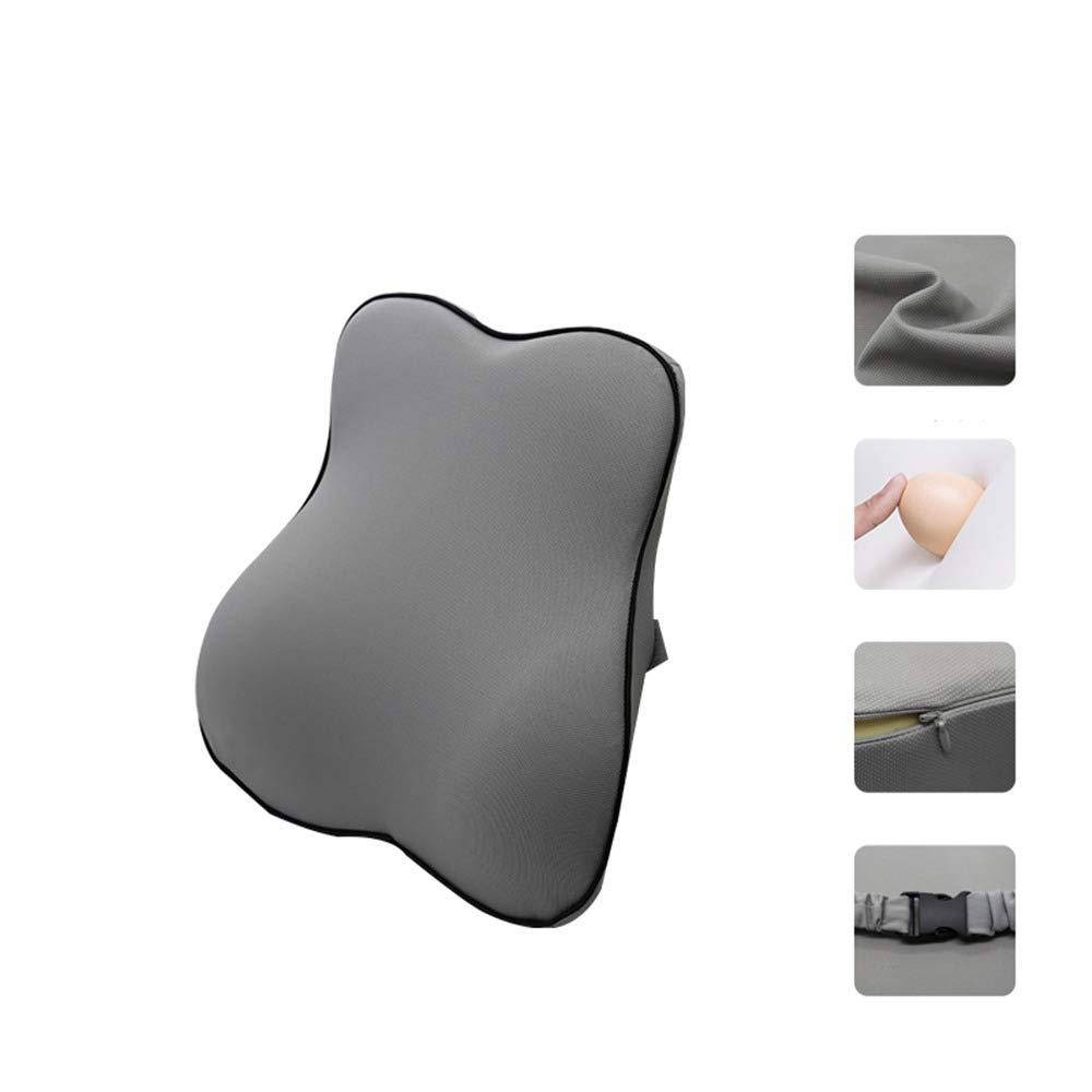 Kit Cuscino Lombare in Memory Foam per Supporto Lombare e poggiatesta Ecloud Shop Supporto Lombare per Sedile Auto Design ergonomico