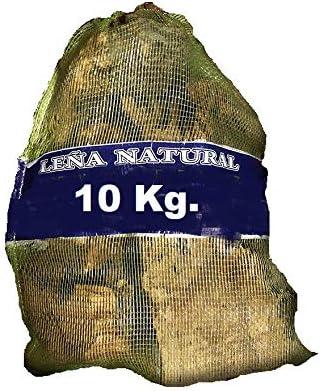 SACO LE/ÑA 10 KG NATURAL LIMPIA OLIVO