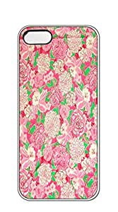 Custom made Case/Cover/ phone case iphone 5s - lilly pulitzer butterfly flowers