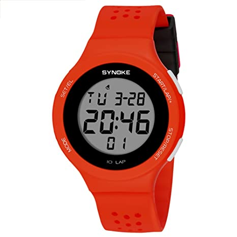 Reloj electrónico de natación, resistente al agua, LED deportivo, reloj deportivo al aire