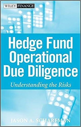 amazoncom hedge fund operational due diligence understanding the risks 9780470372340 jason a scharfman books