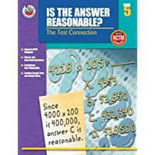 Is the Answer Reasonable?, Grade 5: The Test Connection