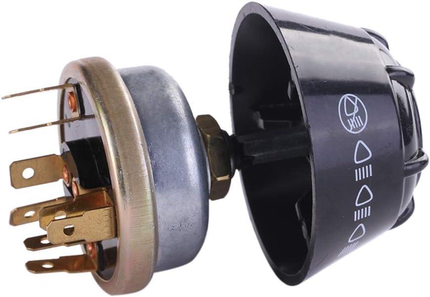 DJYJD Interruptor de Repuesto para Tractores Landini Internacional Massey Ferguson Iluminaci/ón//Cuerno Piezas Tractores