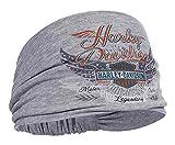 Harley-Davidson Women's Studded Winged Bar & Shield Headband Scrunchie HE17354