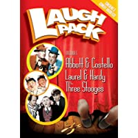 Laugh Pack (includes Abbott & Costello, Laurel & Hardy, and The Three Stooges) [Import]
