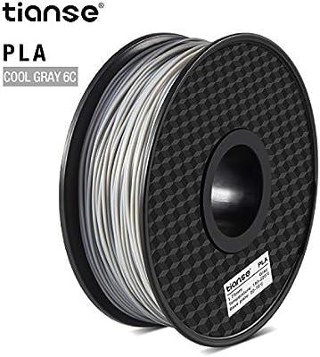 TIANSE PLA Filament 1.75 mm 1 kg, PLA Filamento de Impresora 3D ...