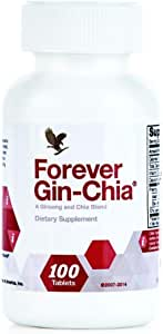 Ginseng and Chia Blend Supplement - Forever Gin-Chia (33 Day Supply)