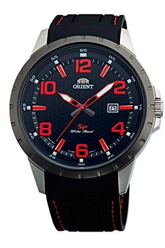 """Reloj Orient de hombre """"SP"""" con caja de acero, bisel negro y"""