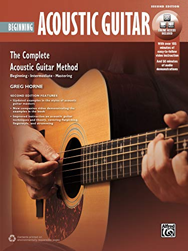 Complete Acoustic Guitar Method: Beginning Acoustic Guitar, Book & Online Video/Audio (Complete Method) ()