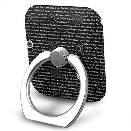 Supernatural Inspiration Symbol Phone Ring Stand Holder Cellphone Kickstand Finger Grip 360¡ã Rotation 180¡ã ()