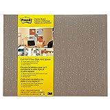 Post-it 558FMCH Cut-To-Fit Office Display Board, 18''x23'', Mocha