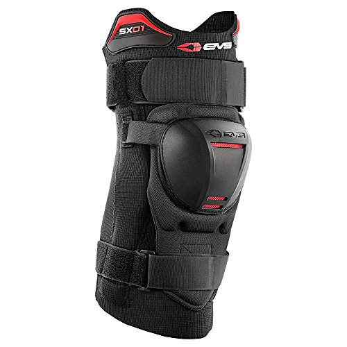 (EVS Sports Men's Knee Brace (SX01) (Black, Large))