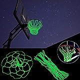 Hstore Hoop Light LED Christmas Lit Basketball Hanging Color Changing lamp Light line Neon Lamp LED Light Lamp Bulb LED Party Decor Charm (B(Basketball net))