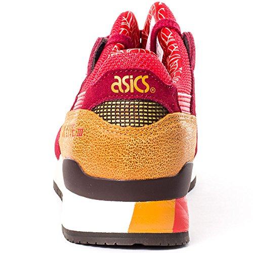 Asics Onitsuka Tiger Gel-Lyte III H5N5N-2523 Sneaker Shoes Womens Red