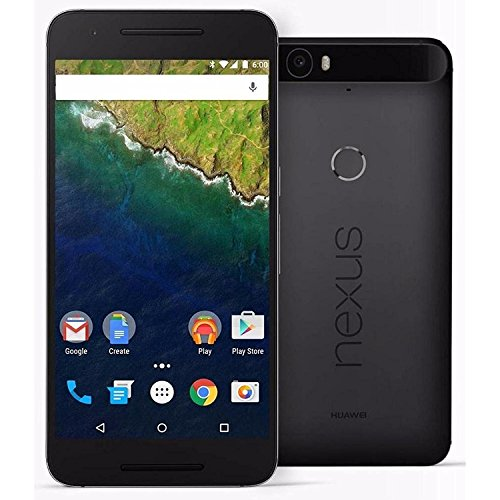 Huawei Nexus 6P H1511 Unlocked GSM - Certified Refurbished (Black, 32)
