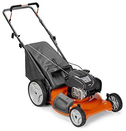 Husqvarna LC121P 163cc 21-in Gas Push Lawn Mower with Mulching Capability 961330027 - Lawn Mower Husqvarna