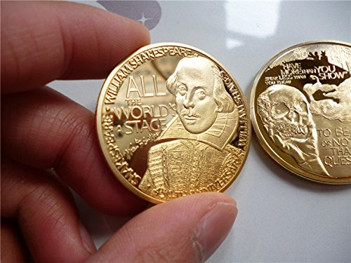 Gold Plated Game Coin - 6