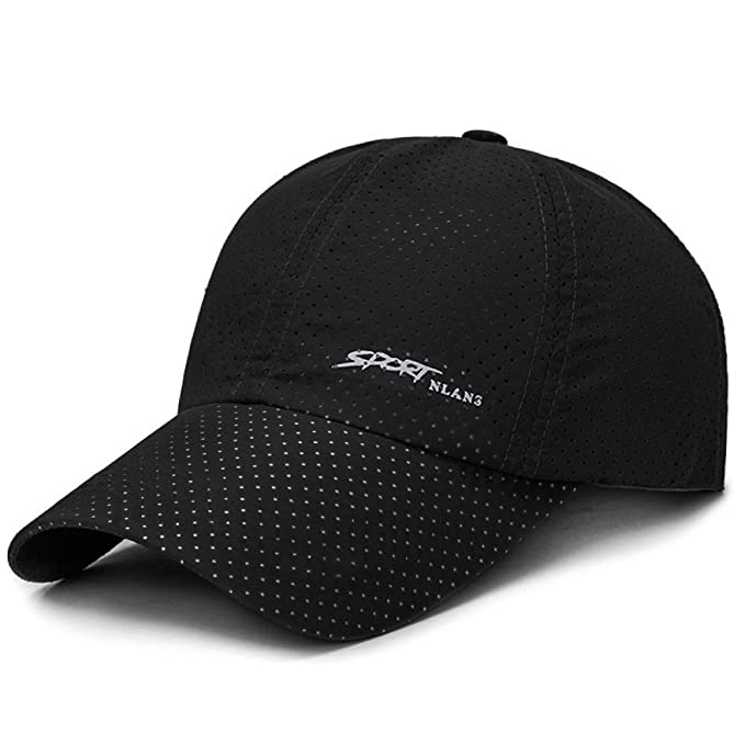 Gorra de béisbol Punch de Verano en Color Liso 1-1 Negro: Amazon ...