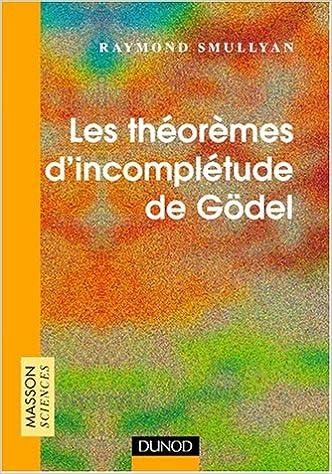 En ligne Les théorèmes d'incomplétude de Gödel pdf, epub