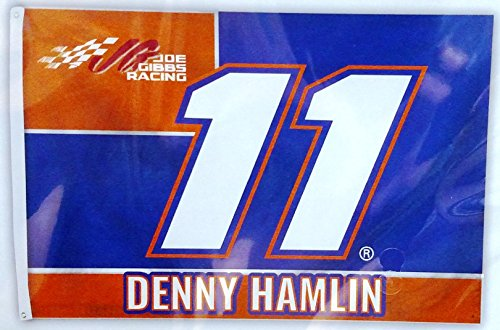 Denny Hamlin #11 2017 NUMBER Version 3x5 Flag Outdoor House Banner Nascar Racing