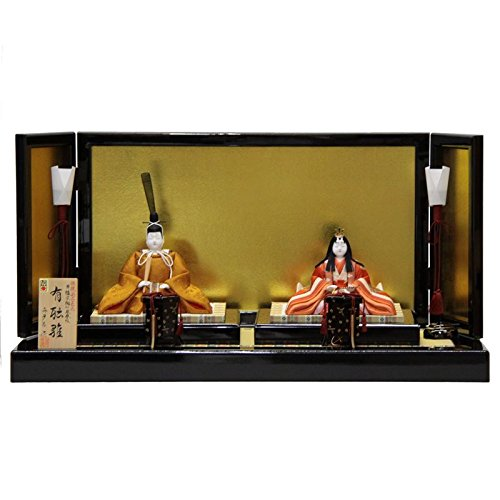 雛人形 平飾り木目込み親王 有識雛1278 幅75cm 3mk26 真多呂 伝統的工芸品   B075GLZQNS