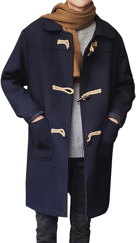 FOMANSH ラシャコート メンズ ロングコート ジャケット ダッフルコート 大きいサイズ 厚手 秋 冬
